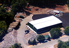Aerial View of Our Building & Yard